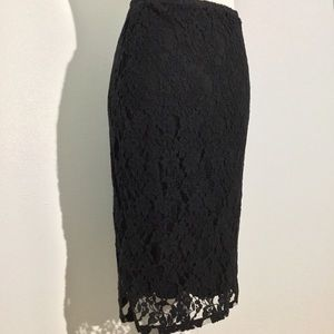 Xhilaration Skirts - Lace stretch pencil skirt